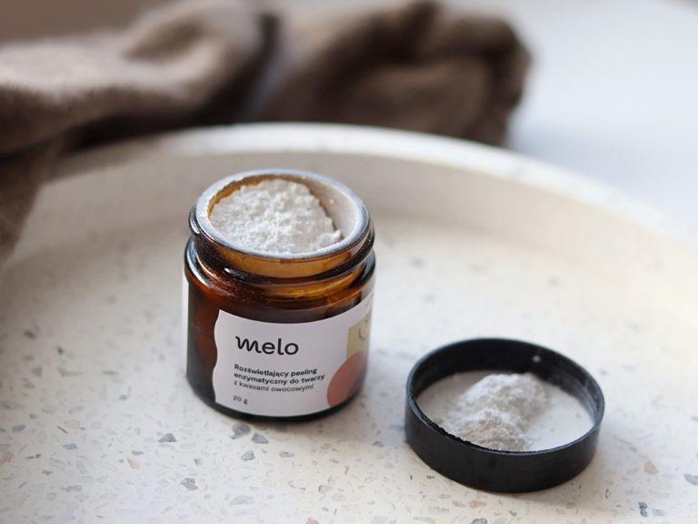 Peeling enzymatyczny do twarzy Melo