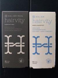 NUTRIKOSMETYK HAIRVITY MEN Halier - Opinie