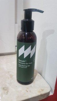 Peelingujący żel do mycia twarzy z kwasem mlekowym Monolit - Opinie