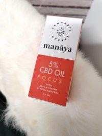 Olejek CBD Focus Manaya - Opinie