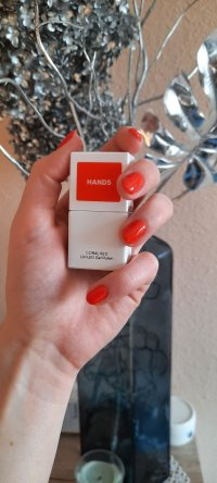 LAKIER HYBRYDOWY CORAL RED HANDS - Opinie