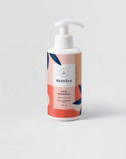 Manaya - Regenerujący szampon z olejem z nasion konopi