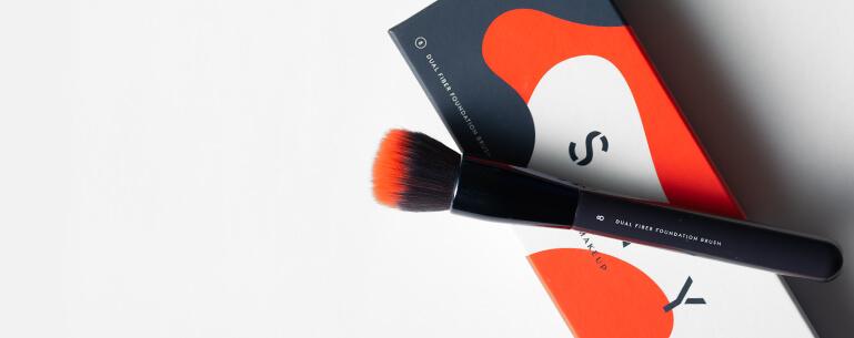 Kompozycja - Dual Fiber Foundation Brush nr 8 SAY Makeup