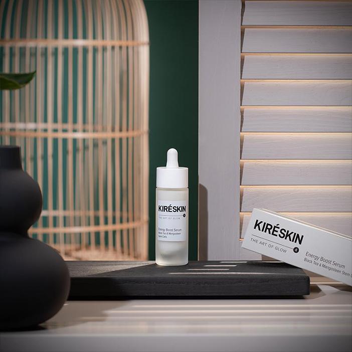 Kompozycja - Serum Energetyzujące Czarna Herbata & Komórki Macierzyste Mangostanu Kiré Skin