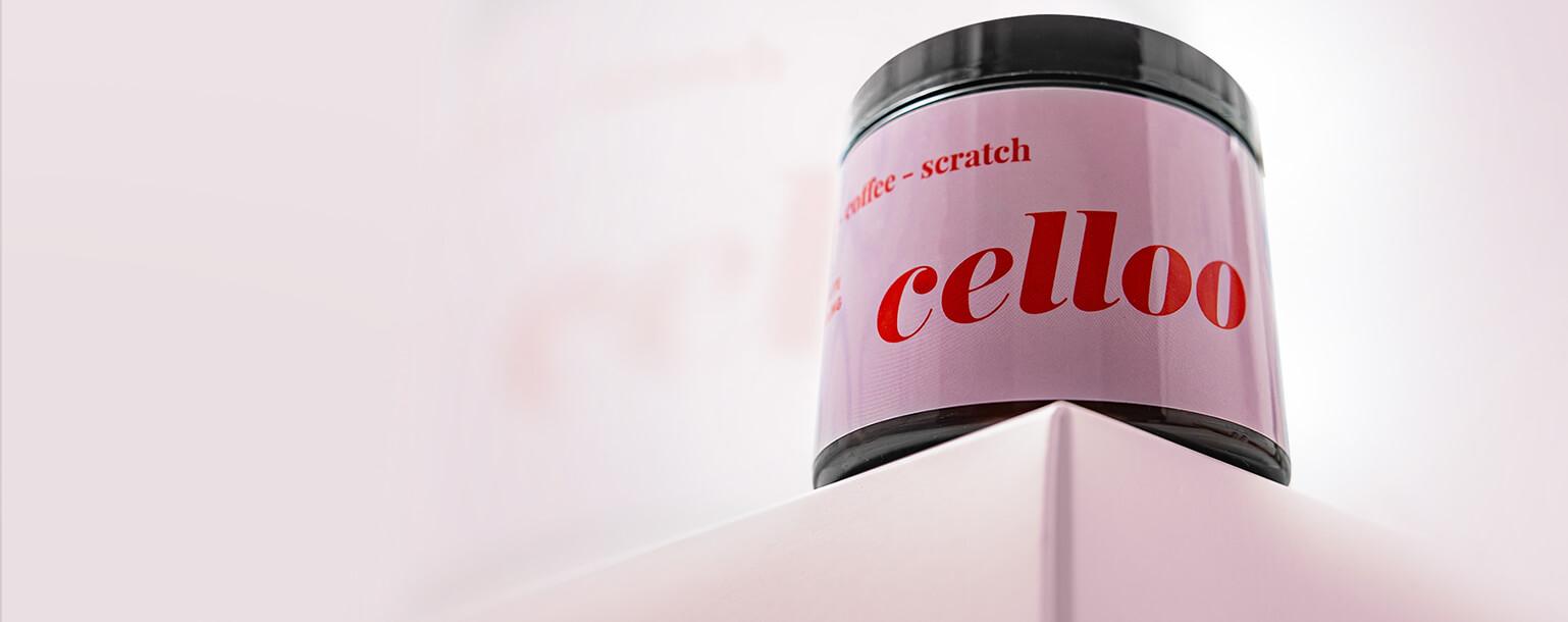 Kompozycja - Peeling kawowy Scratch-coffee-scratch Celloo