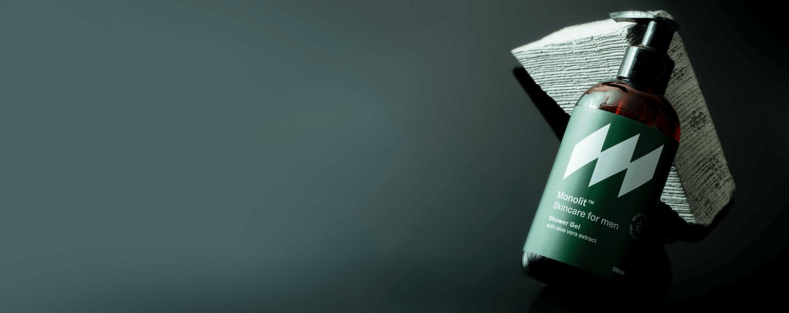 Kompozycja - Żel pod prysznic z aloesem Monolit